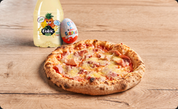 Image de Menu Gone - Pizza Jambon / Emmental